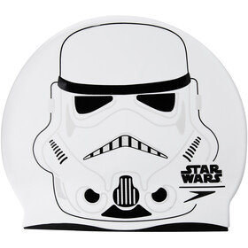 speedo Star Wars Slogan Cap Kinder white/usa charcoal/black